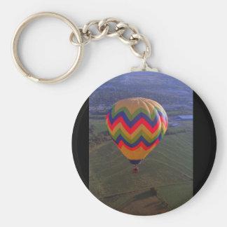 Luftballong flyg 1985_Classic Rund Nyckelring