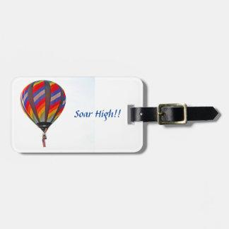Luftballong på bagagemärkre bagage lappar