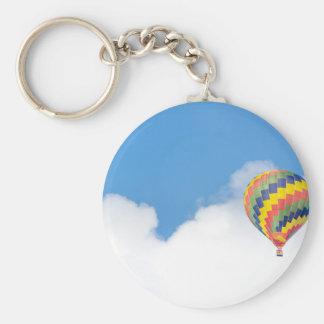 luftballong rund nyckelring