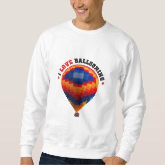 Luftballongballongflygande Lång Ärmad Tröja