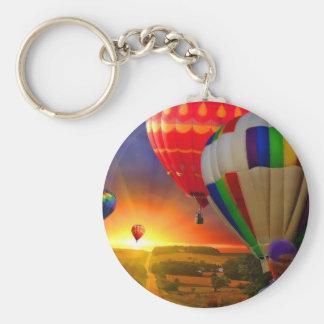 luftballongen avbildar rund nyckelring