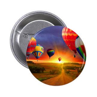luftballongen avbildar standard knapp rund 5.7 cm