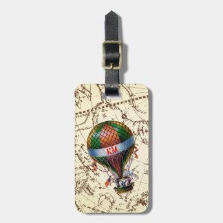 Luftballongen flyter på Zodiachimmel personifierar Bagagebricka