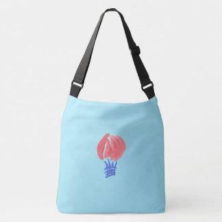 Luftballongen som är stor all över tryckkor, axelväska