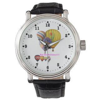 Luftballonger!!! Collageklocka Armbandsur