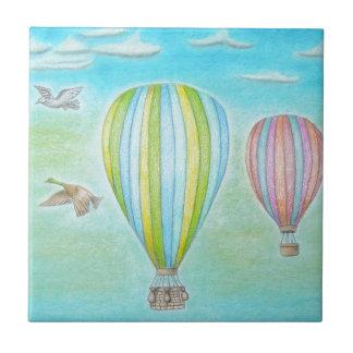 luftballonger kakelplatta