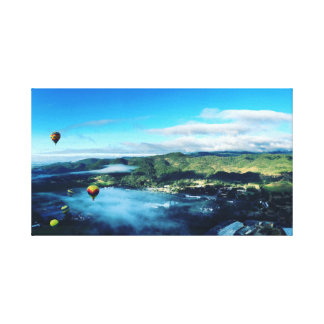 Luftballonger Napa Valley Canvastryck