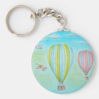 luftballonger rund nyckelring