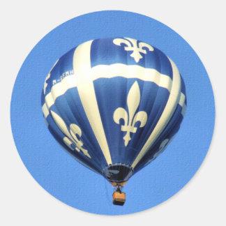 LuftballongGatineau festival! Runt Klistermärke