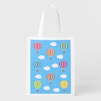 Luftballongmönster Återanvändbar Påse