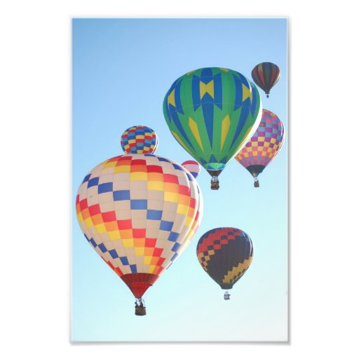 Luftballongtryck Fotografi