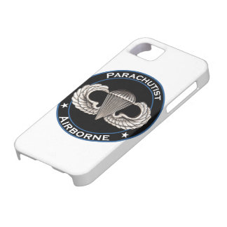 Luftburen Parachutist iPhone 5 Cases