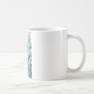 Luftig Cubism landskap (abstrakt cubism) Kaffemugg