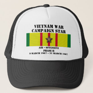 Luftoffensiven arrangerar gradvis kampanj II Truckerkeps