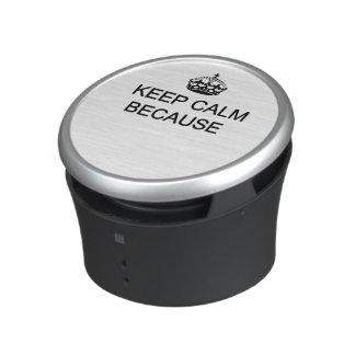Lugn för Bumpster högtalarebehålla Bluetooth Speaker