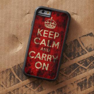 Lugn för vintageGrungebehålla och bär på Tough Xtreme iPhone 6 Skal