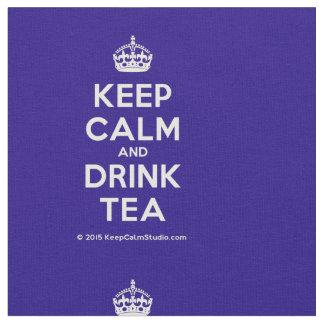 Lugna behålla och drinkTea Tyg