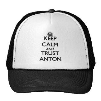 Lugna behålla och FÖRTROENDE Anton Keps
