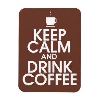 Lugna behålla och högvärdig magnet för drinkkaffe