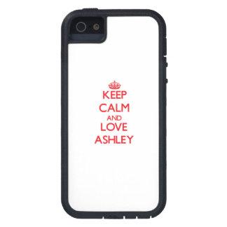 Lugna behålla och kärlek Ashley iPhone 5 Case-Mate Skydd