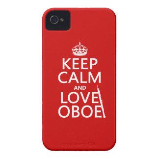 Lugna behålla och kärlek Oboe (någon iPhone 4 Hud