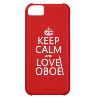 Lugna behålla och kärlek Oboe (någon iPhone 5C Fodral
