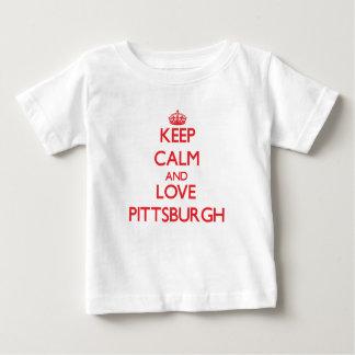 Lugna behålla och kärlek Pittsburgh Tröja