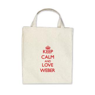 Lugna behålla och kärlek Weber Kassar