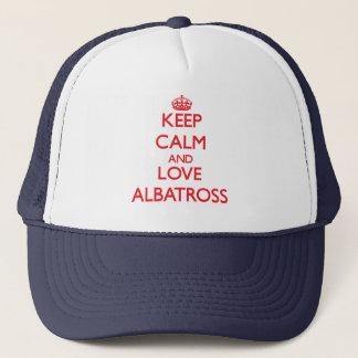 Lugna behålla och kärlekAlbatross Truckerkeps