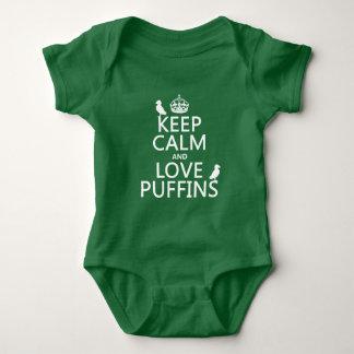 Lugna behålla och kärlekPuffins (någon T Shirts