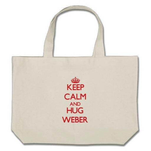 Lugna behålla och kram Weber Kassar