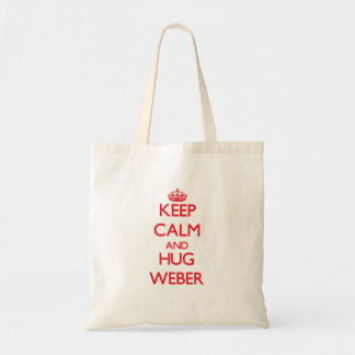 Lugna behålla och kram Weber Budget Tygkasse
