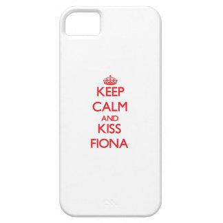 Lugna behålla och kyss Fiona iPhone 5 Cover