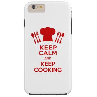Lugna behålla och laga mat för behålla tough iPhone 6 plus skal
