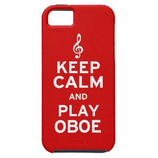 Lugna behålla och lek Oboe iPhone 5 Fodraler