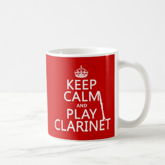 Lugna behålla och lekklarinett (någon kaffemugg