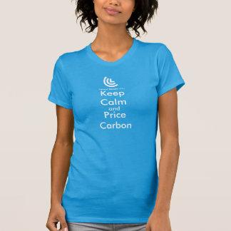 Lugna & pris för koldamer T skjorta för behålla T-shirts