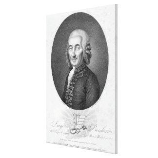 Luigi Boccherini Canvastryck