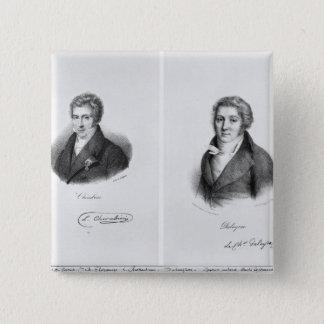 Luigi Cherubini och Nicolas Marie Dalayrac Standard Kanpp Fyrkantig 5.1 Cm