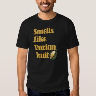lukter gillar durianfrukt t-shirts