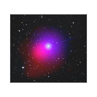 Lulin är ett komet canvastryck