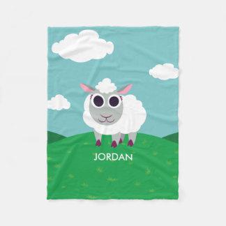 Lulu fåren fleecefilt
