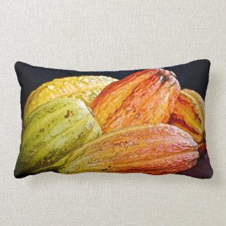Lumbaren kudder - karibisk kakao - tropiskt prydnadskuddar