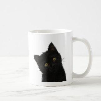 Luna Bella svart kattunge Kaffemugg