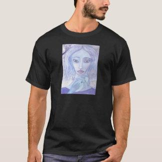 luna blått 001.jpg t-shirt