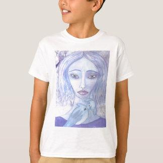 luna blått 001.jpg tee shirts