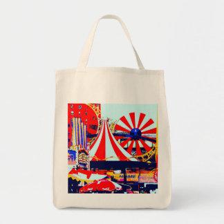 Luna Park på Coneyön Mat Tygkasse