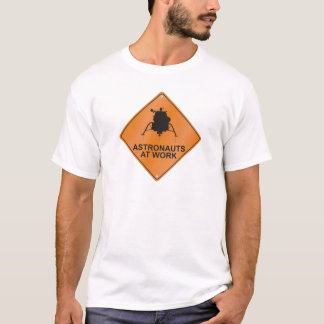 Lunar enhet/arbete tee shirt