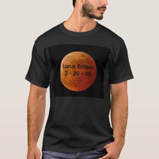 Lunar förmörkelse 2008 t shirt
