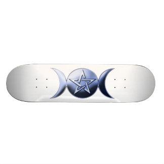Lunar gudinnaSkateboard Skateboard Bräda 21,5 Cm